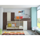 Двухъярусная кровать Брайтон Fmebel