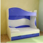 Двухъярусная кровать Милан Fmebel