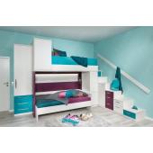 Двухъярусная кровать Небраска Fmebel