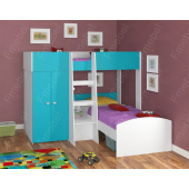 Двухъярусная кровать Невада Fmebel 90x200