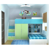 Двухъярусная кровать Теннесси Fmebel 80x190