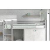 Двухъярусная кровать со шкафом Акапулько Fmebel 90x200