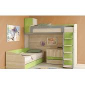 Кровать-чердак двухместная Тбилиси Fmebel