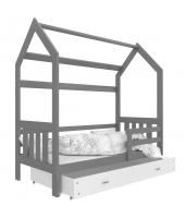 Одноярусные кровати-домики